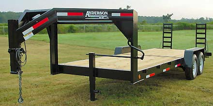 Gooseneck 6T Equipment Trailer