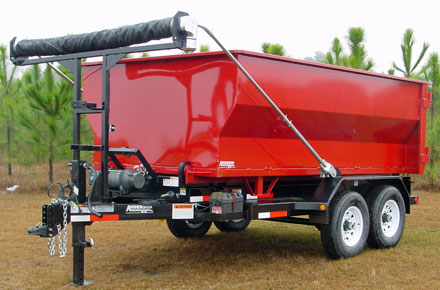 Roll Off Dump Trailer