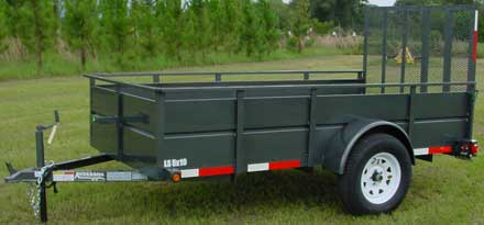 SS Utility Trailer